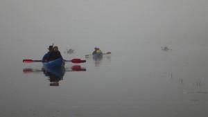 Plaukiame kaip ežiukai rūkai – nematyti nei vieno kranto
