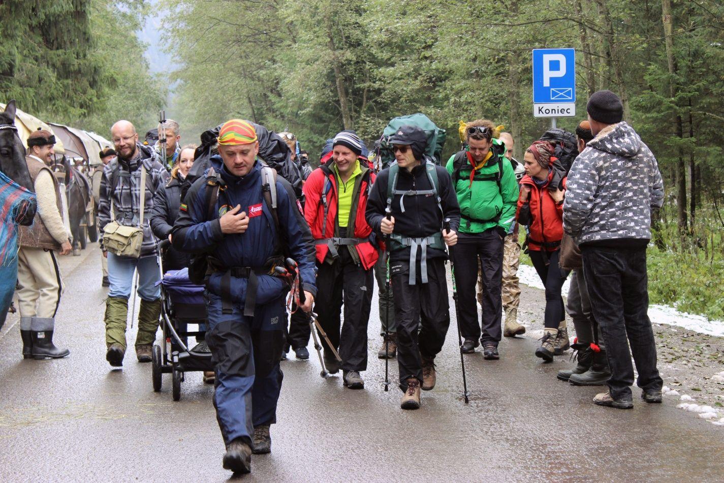 Mintinai žinomi 9 km iki Morskie Oko tik prasideda