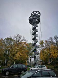 Šturmuojame Krekenavos apžvalgos bokštą