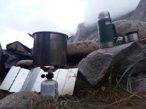 Dargana netrukdo pasigaminti karšto maisto