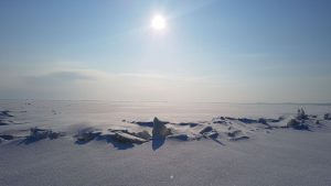 Ledo sangrūdos mariose atrodo mistiškai