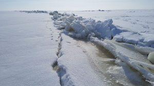Trūkinėjantis ledas – besiartinančio pavasario pranašas
