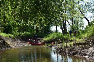Kamštis upėje :)