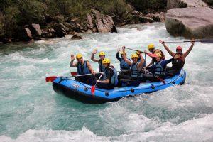 Raftingo linksmybės