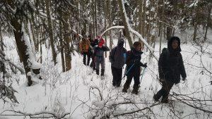 Miškų ir pelkių apsuptis, bekelės žavesys, sniego spindesys dažniausiai baigiasi šypsenų antplūdžiu.