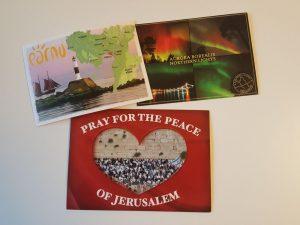 Linkėjimai iš Suomijos, Izraelio ir Latvijos Estijos pasienio