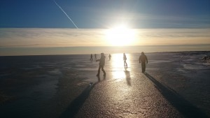 Pasivaikščiojimai Baltijos ledu