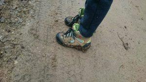 Po rimto žygio švarių batų nė nesitikime!