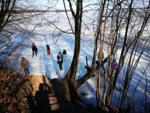 7. Išbandome marių ledo tvirtumą