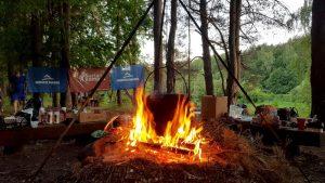 Verdama stiprybės teikianti grikių košė bei šilumą teikianti karšta arbata :)