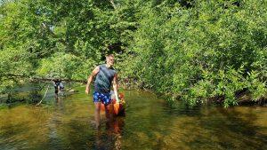 Kai upėje pritrūksta vandens… :)