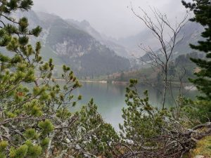 Migla ir lietus kalnų nesugadino.