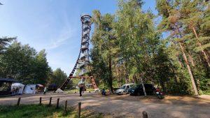 Labanoro apžvalgos bokšto kolonos