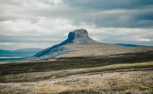 Sunkiausiai įkopiamas kalnas Suomijoje