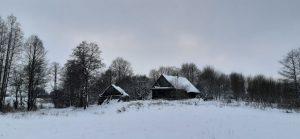 Triluščių kaimo troba