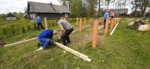 Prasideda keliautojų namų ūkinuko statybos