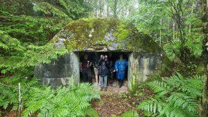 I pasaulinio karo bunkeryje